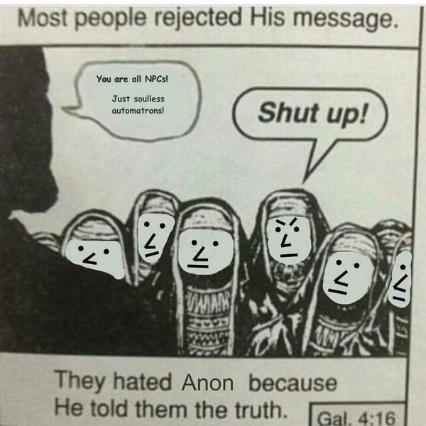 NPC Jesus vrs Jews